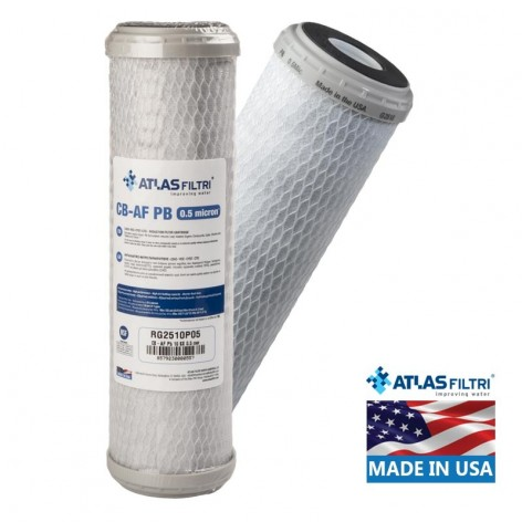 Συσκευή φίλτρου πάγκου Atlas με φίλτρο νερού Atlas CB AF-Pb (USA)