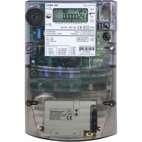 Μετρητής net-metering ELGAMA 300 G3B144 με modem