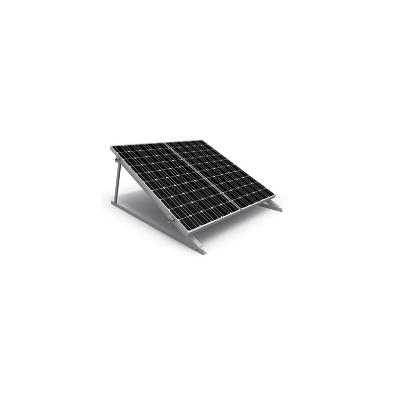 Μονή βάση στήριξης 10 φωτοβολταϊκών πάνελ  K2 System