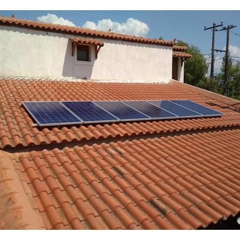 Βαση στήριξης 5kW φωτοβολταϊκών σε κεραμοσκεπή  Κ2 System
